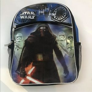 Other - Star Wars The Force Awakens Shimmery Backpack Bag